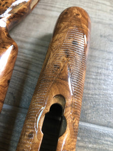 HMR-155 hydroimpression stock and forend with root wood effect film