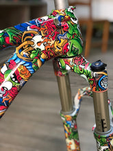 Load image in gallery viewer, HOT-045 CUSTOMIZED BIKE WITH HYDROPRINTING | Water transfer printing monsters print