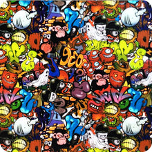 Load image in gallery viewer, HOT-062 Monkeys hydrographic slide