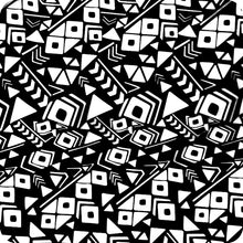 Load image into gallery viewer, HOT-073 Black and white abstract hydrographic sheet