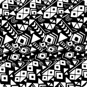 HOT-073 Black and white abstract hydrographic sheet
