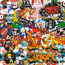 Load image in gallery viewer, HOT-096 Hydrography Sticker Bomb