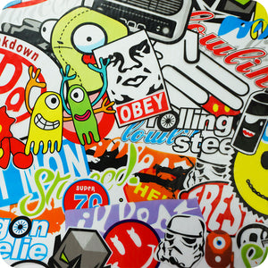HOT-134 Foil for hydro printing Sticker Bomb