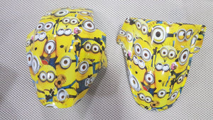 HOT-139 Decoration of pieces with hydro printing The Minions