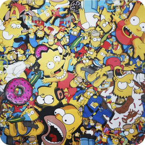 HOT-140 The Simpsons Hydroimpression Sheet