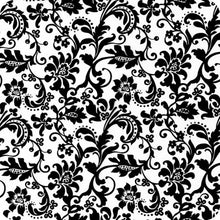 Load image in gallery viewer, HOT-041 Black arabesque water transfer printing foil