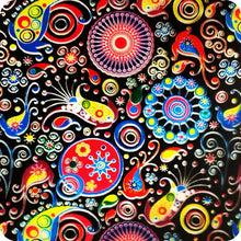 Load image in gallery viewer, HOT-053 Psychedelic hydrographic sheet