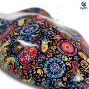 HOT-053 Psychedelic Hydrographic Print