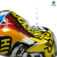 Load image in the gallery viewer, hydroimpression sheet HOT-057 redbull monster sticker bomb