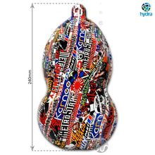 Load image in gallery viewer, HOT-077 Hydrographic sheet sticker bomb