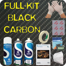 Load image in the gallery viewer, full black carbon hydroimpression kit