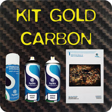 Load image in gallery viewer, GOLD carbon fiber hydroimpression kit