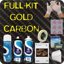 Load image in the gallery viewer, complete hydroimpression GOLD carbon kit