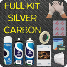 Load image in gallery viewer, full SILVER carbon hydroimpression kit