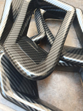 Load image in the gallery viewer, carbon fiber hydroimpression sheet HFC-125 skirts and bmw moldings (1)