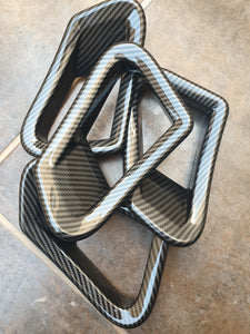 HFC-125 carbon fiber hydroimpression sheet for bmw skirts and moldings (1)