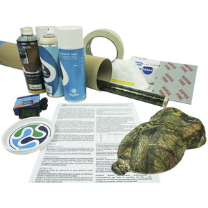Complete realtree camouflage hydroprint kit