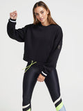Twist Serve Sweat - Black