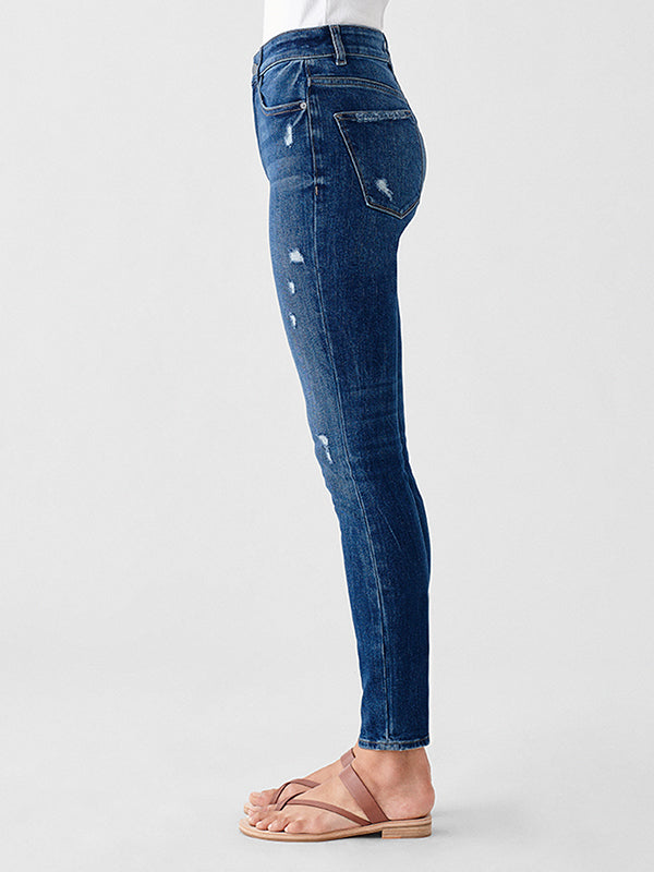 Farrow High Rise Ankle jean - Clemson
