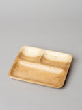 Square wooden platter - Wood