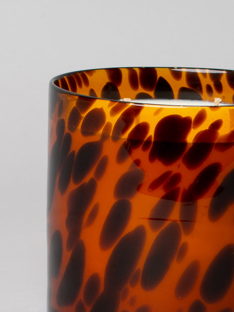 Santal Spotted candle - tortoise shell