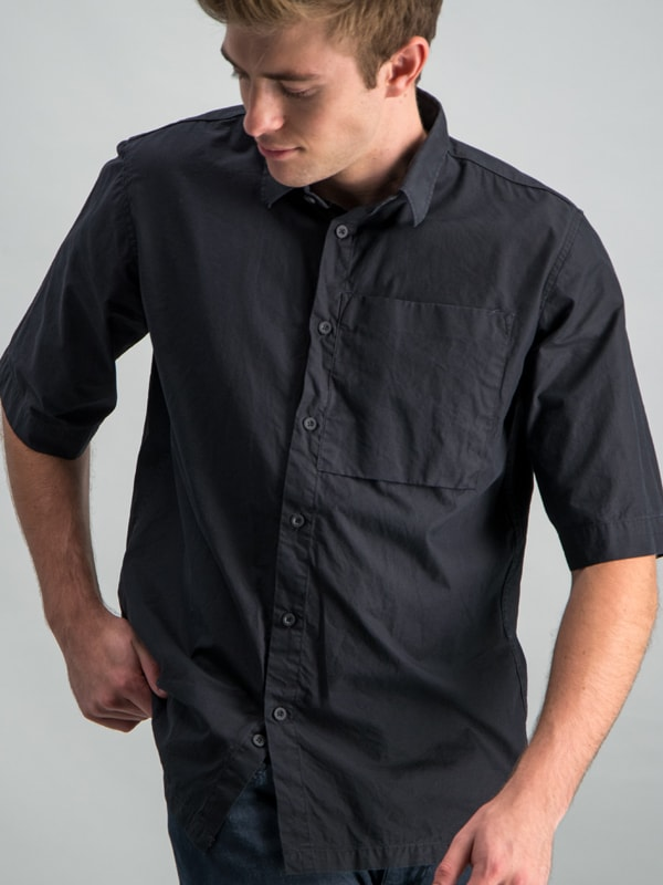 POCKET SHIRT - BLACK