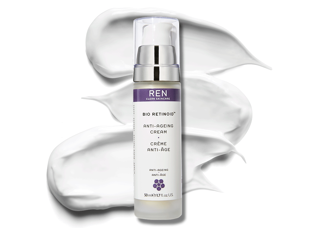 Retinol results designed to limit irritation.