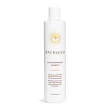 Load image into Gallery viewer, 10oz White bottle that reads Innersense Color Awakening Hairbath - organic shampoo for colour treated hair