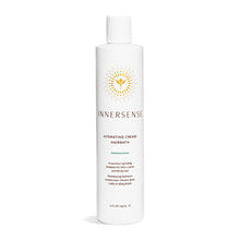 Load image into Gallery viewer, 10oz white bottle that reads Innersense Hydrating Cream Hairbath - an organic shampoo for thick, coarse and thirsty hair