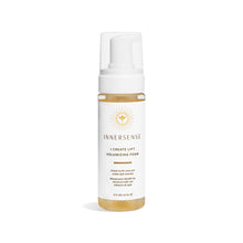Load image into Gallery viewer, 6oz clear bottle that reads Innersense I Create Lift Volumizing Foam - natural styler from Innersense Organic Beauty that lifts roots and promotes volume