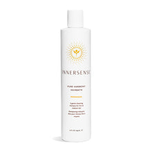 Load image into Gallery viewer, 10oz White bottle that reads Innersense Pure Harmony Hairbath - organic natural shampoo for fine to medium hair