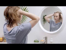 Load and play video in Gallery viewer, Video on how to use Innersense Organic Beauty's I Create Lift - Clean beauty hair tips - cover photo is of a girl with medium length damp hair looking in the mirror