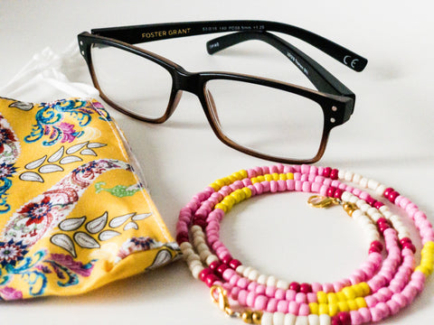 Tonia Beaded Chain for Face Masks + Eyeglasses