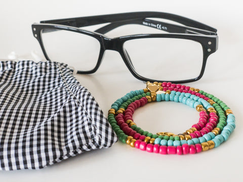 Nandi Beaded Chain for Face Masks + Eyeglasses