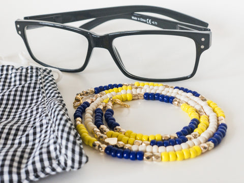 Rana Beaded Chain for Face Masks + Eyeglasses
