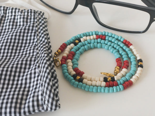 Dalia Beaded Chain for Face Masks + Eyeglasses