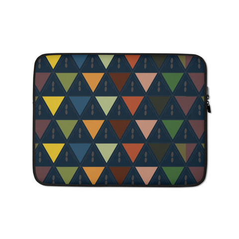 Kaleidoscope patterned Laptop Sleeve