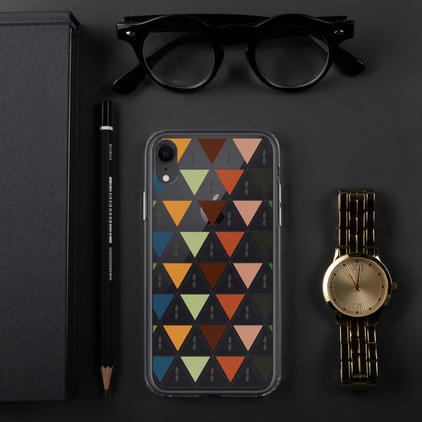 Kaleidoscope patterned iPhone Case