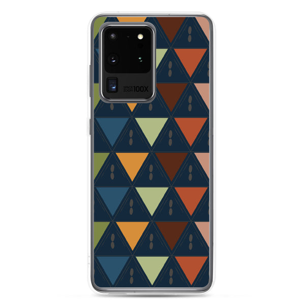 Kaleidoscope patterned Samsung Case