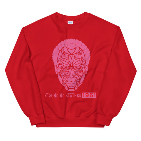 Founding Father Pink/Red  Sweatshirt