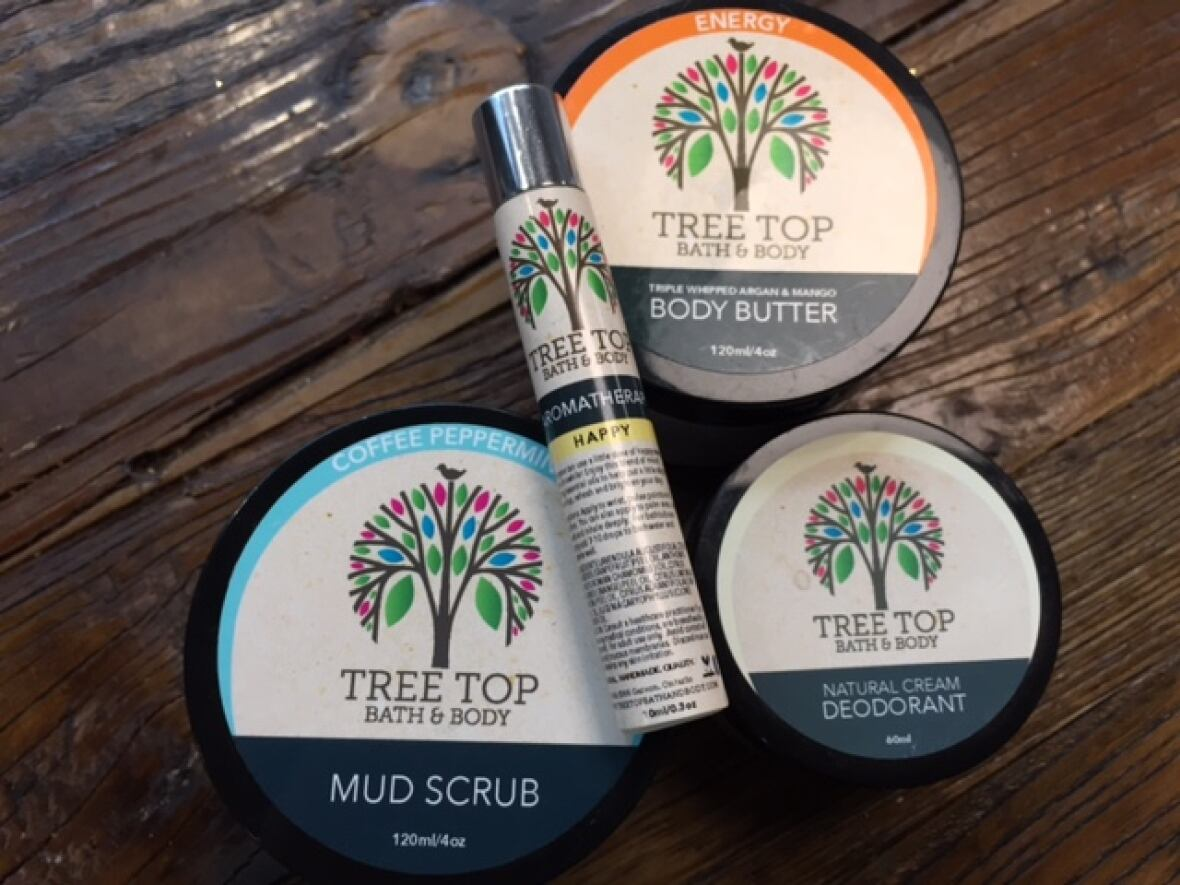 Tree Top Bath and Body Products