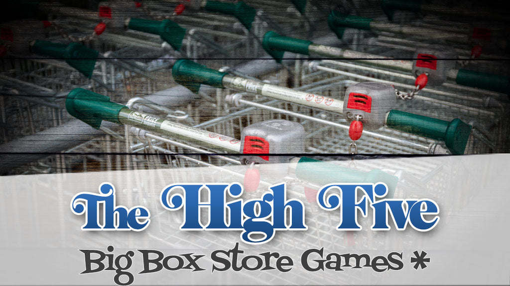 The High-Five: Big Box Games NOT On Another High-Five List
