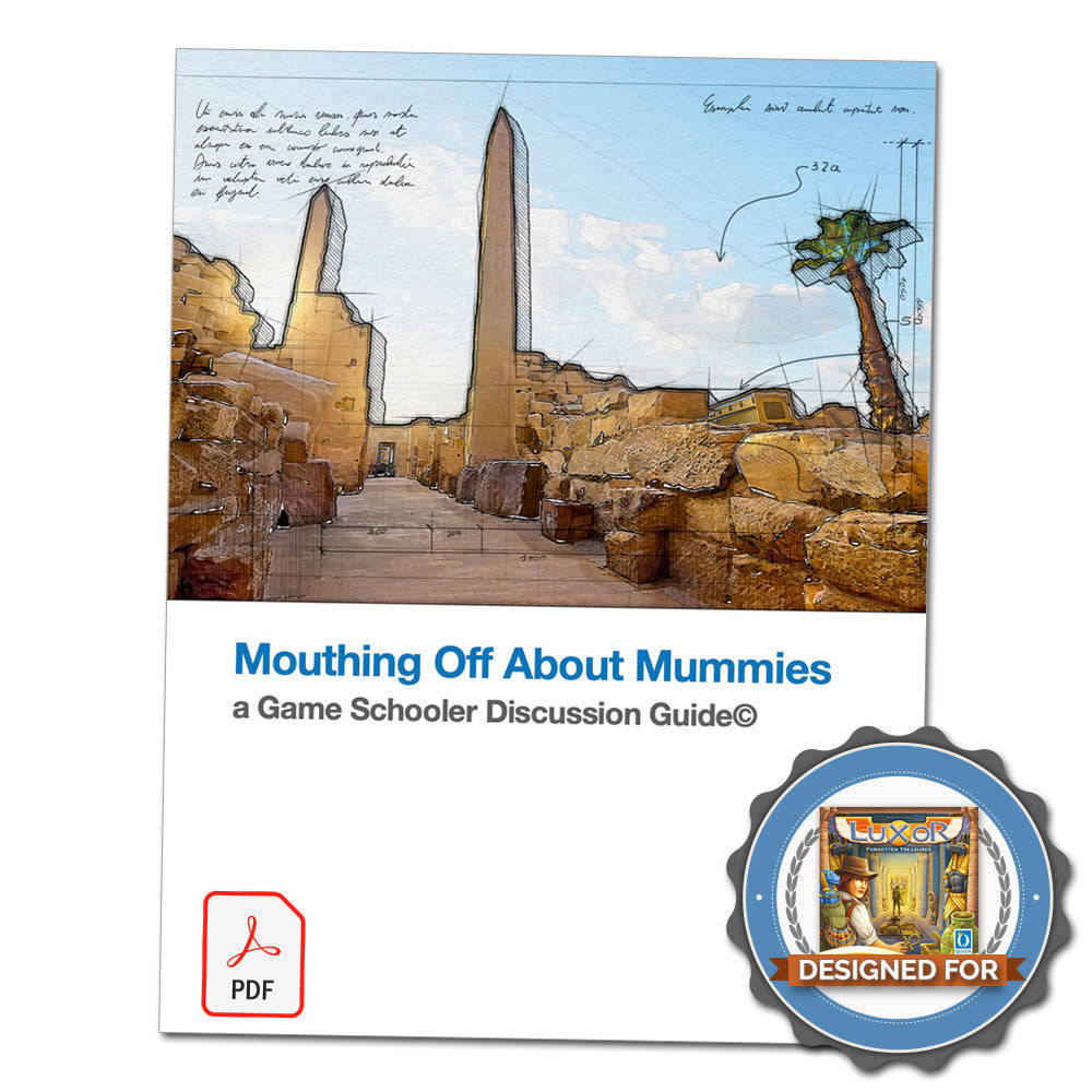 Mouthing Off About Mummies - Discussion Guide