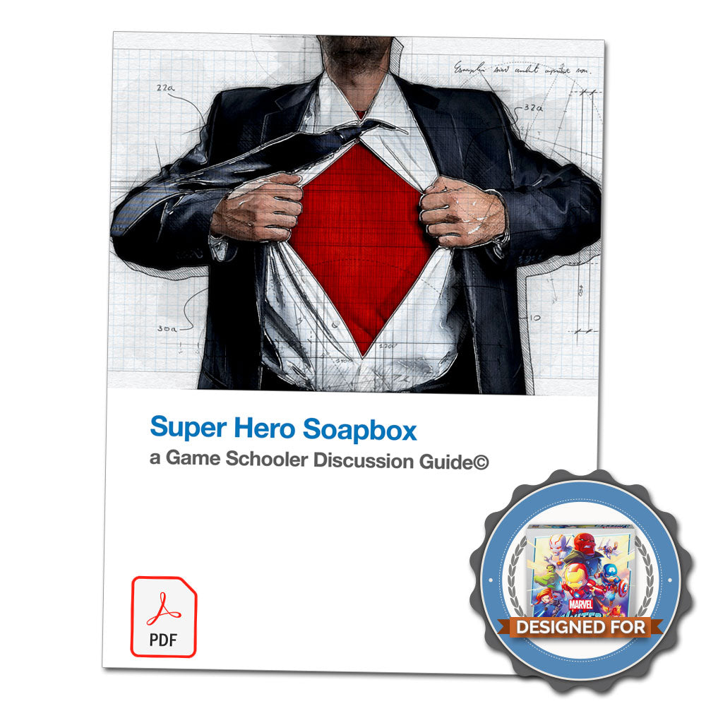 Super Hero Soapbox - Discussion Guide