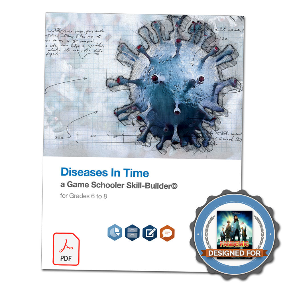 Diseases In Time - A Game Schooler Skill-Builder©