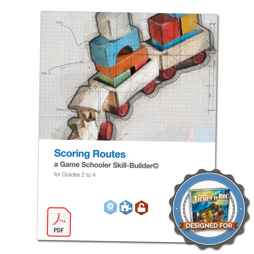Scoring Routes - A Game Schooler Skill-Builder©