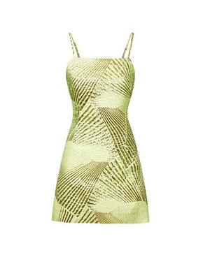 Load image into Gallery viewer, LOGAN DRESS LIME