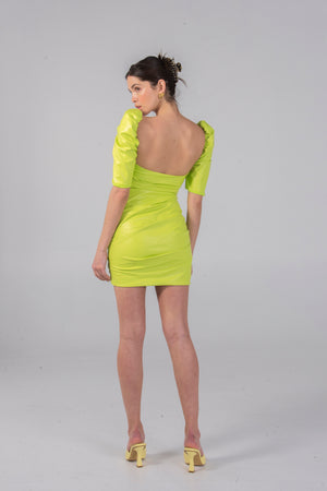 Load image into Gallery viewer, WYATT DRESS PISTACHIO