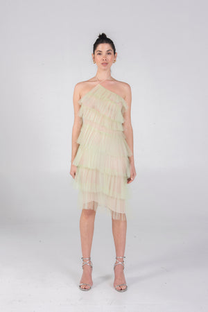 Load image into Gallery viewer, KAI DRESS PISTACHIO