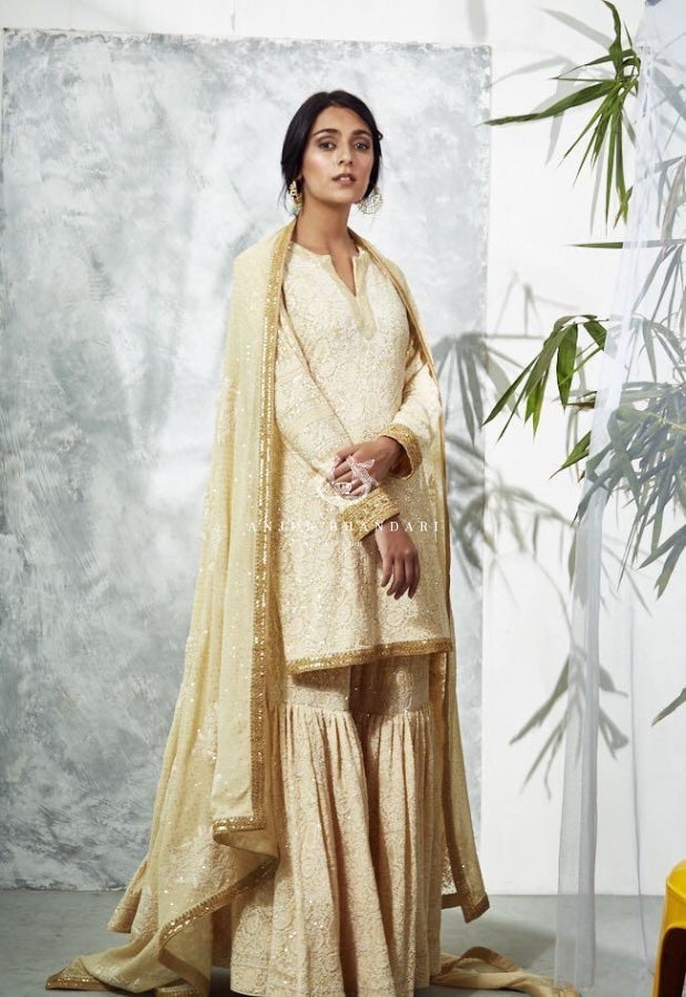 Gharara Lemon Yellow